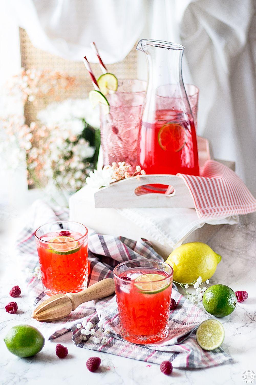 Limonada De Frambuesa Una Opcion Deliciosamente Fresca Recetas
