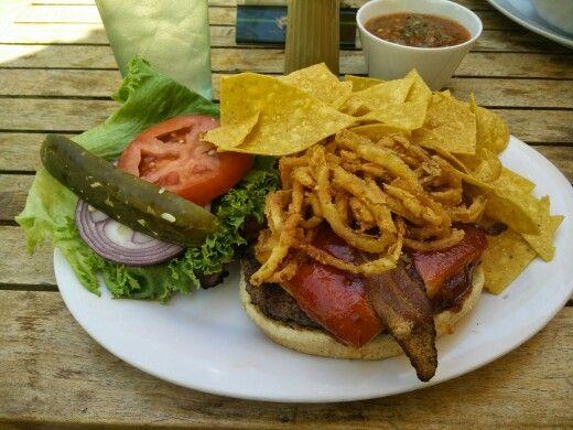 Steackhouse bbq burger