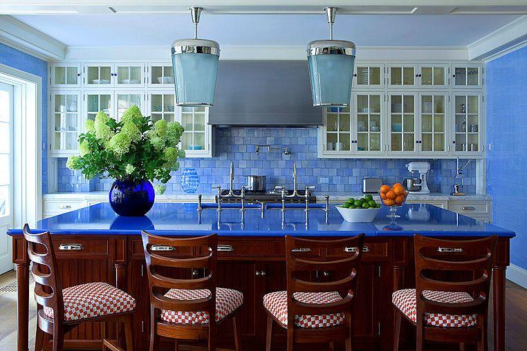 blue kitchen anthony baratta home decor pinterest kitchens