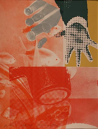 """For Love"""", a print by James Rosenquist"""