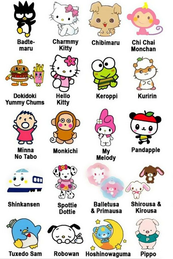 Hello Kitty and Friends | Hello Kitty & Friends | Pinterest | Fondos ...
