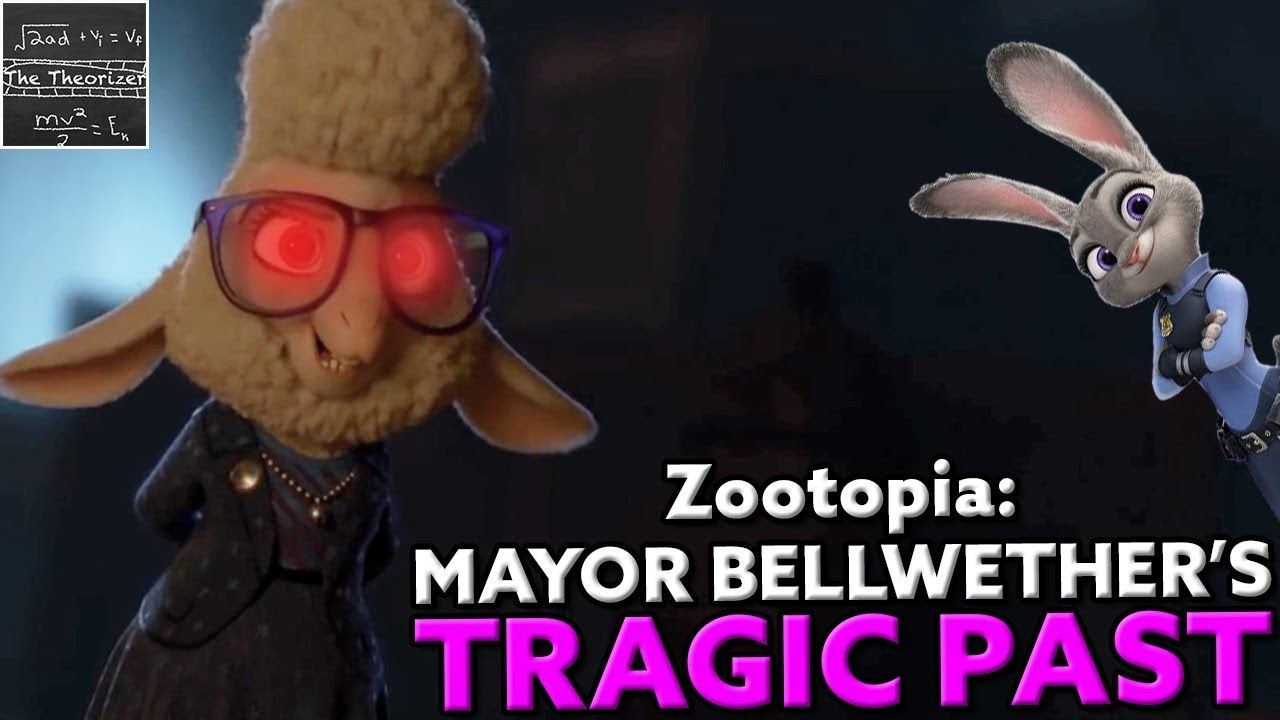 Zootopia Mayor Bellwether S Freaky Backstory Theory Zootopia Nick And Judy Freaky