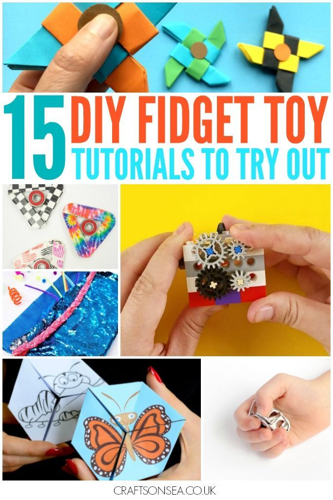 15 Diy Fidget Toys You Can Make Yourself Elementary School Kids