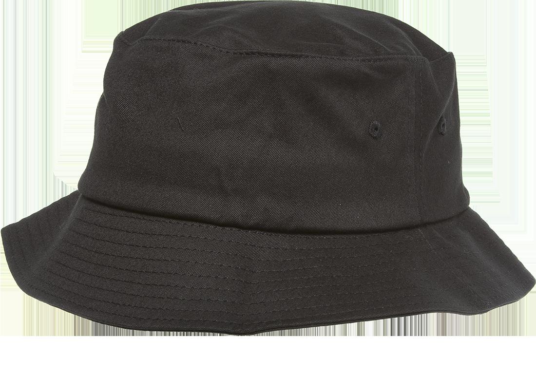 5001 Black Profile1 Png 1 100 770 Pixels Black Bucket Hat Flexfit Hats