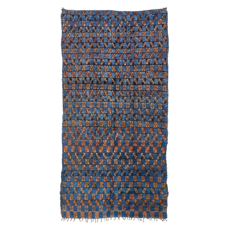 """Vintage Moroccan Wool Rug - 6'1""""x11'11"""""""