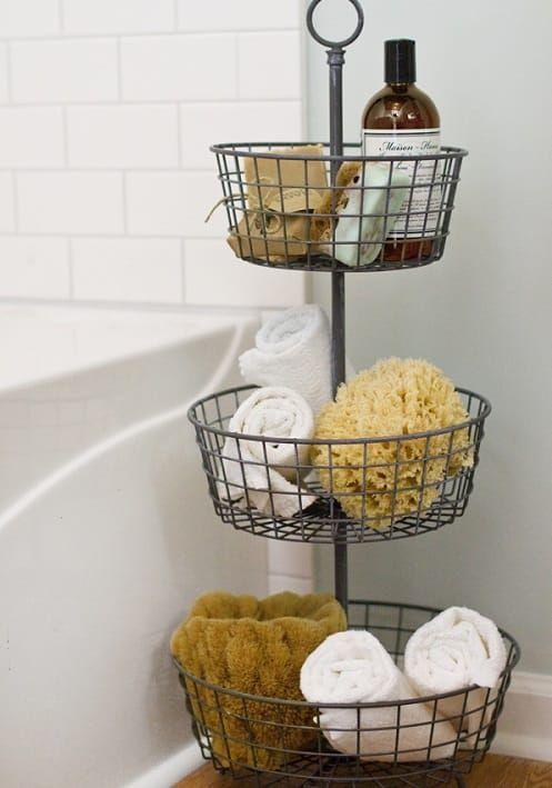 30+ Beste und intelligenteste DIY kleine Badezimmer Storage Hacks #smallbathroomstorage