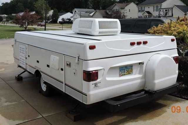 2004 Used Fleetwood Bayside Pop Up Camper In Ohio Oh Recreational
