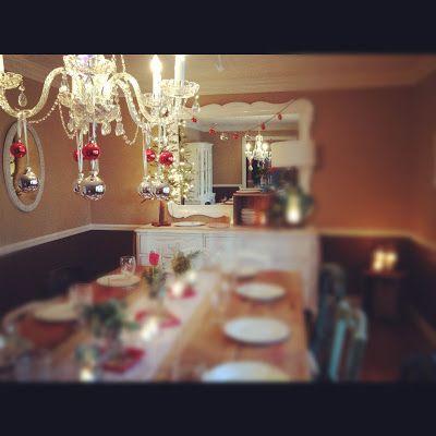Funky Shack Weddings  Atlanta Wedding and Event Design family Christmas dinner