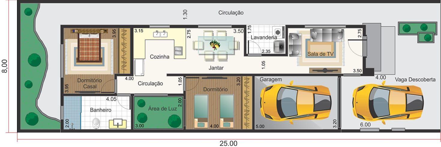 Planos Casas De Una Planta. Interesting Modelos De Casas De Plantas ...