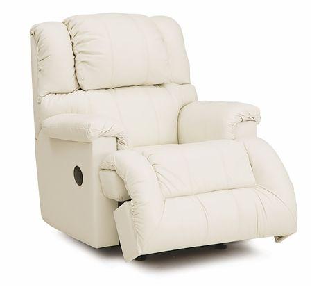 White Palliser Drifter Casual Recliner Chair Recliner Chair