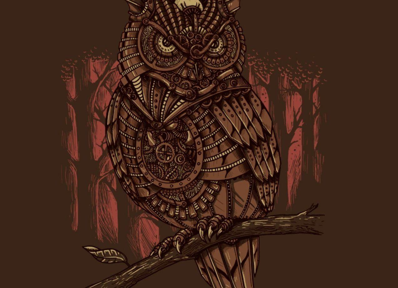 Mechanic-owl King | birds | Owl, Owl art, Owl tattoo chest