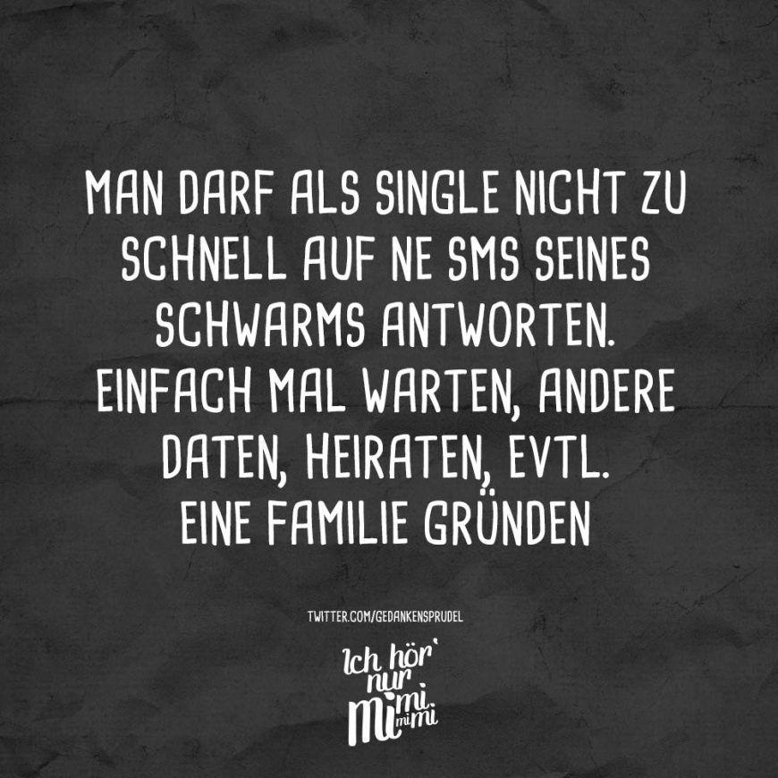 Single mann sprüche