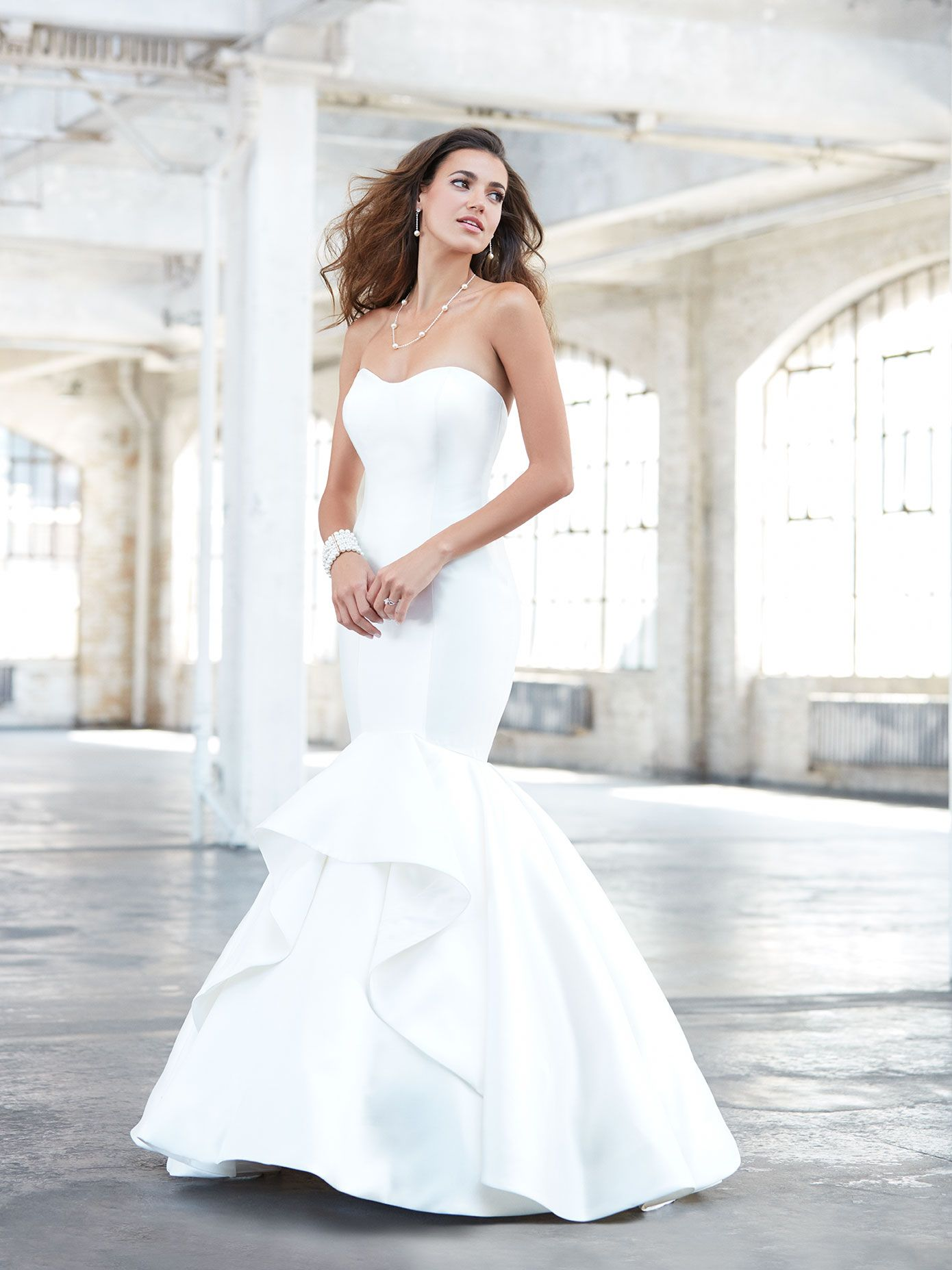 Designer madison james style mj available at bliss bridal in
