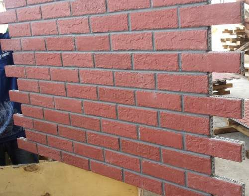 Lightweight Brick Honeycomb Panels