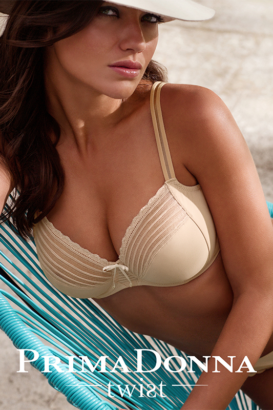 Prima Donna Tresor Lovely basic bra with wonderful support sans the padding that full cup girls can do without! 32-36 bands // E-G cups $121