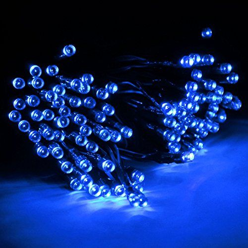 Efrank Solar Fairy String Lights 55ft 100 LED Quality Superbright