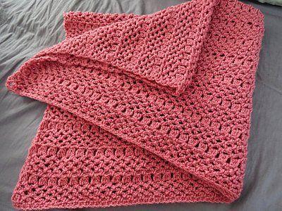 Elegant Baby Blanket – Free Crochet Pattern | babys and kids afghans ...