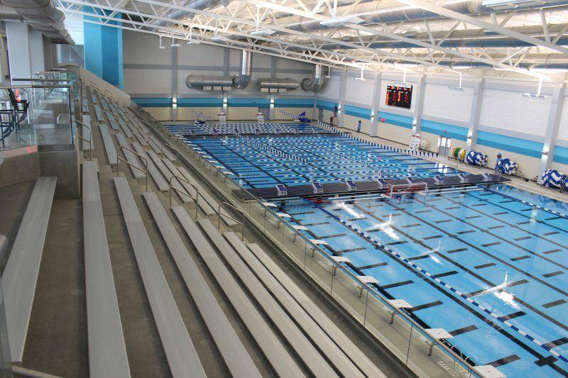 Lewisville Isd Natatorium With Images Pool Swimming Pools