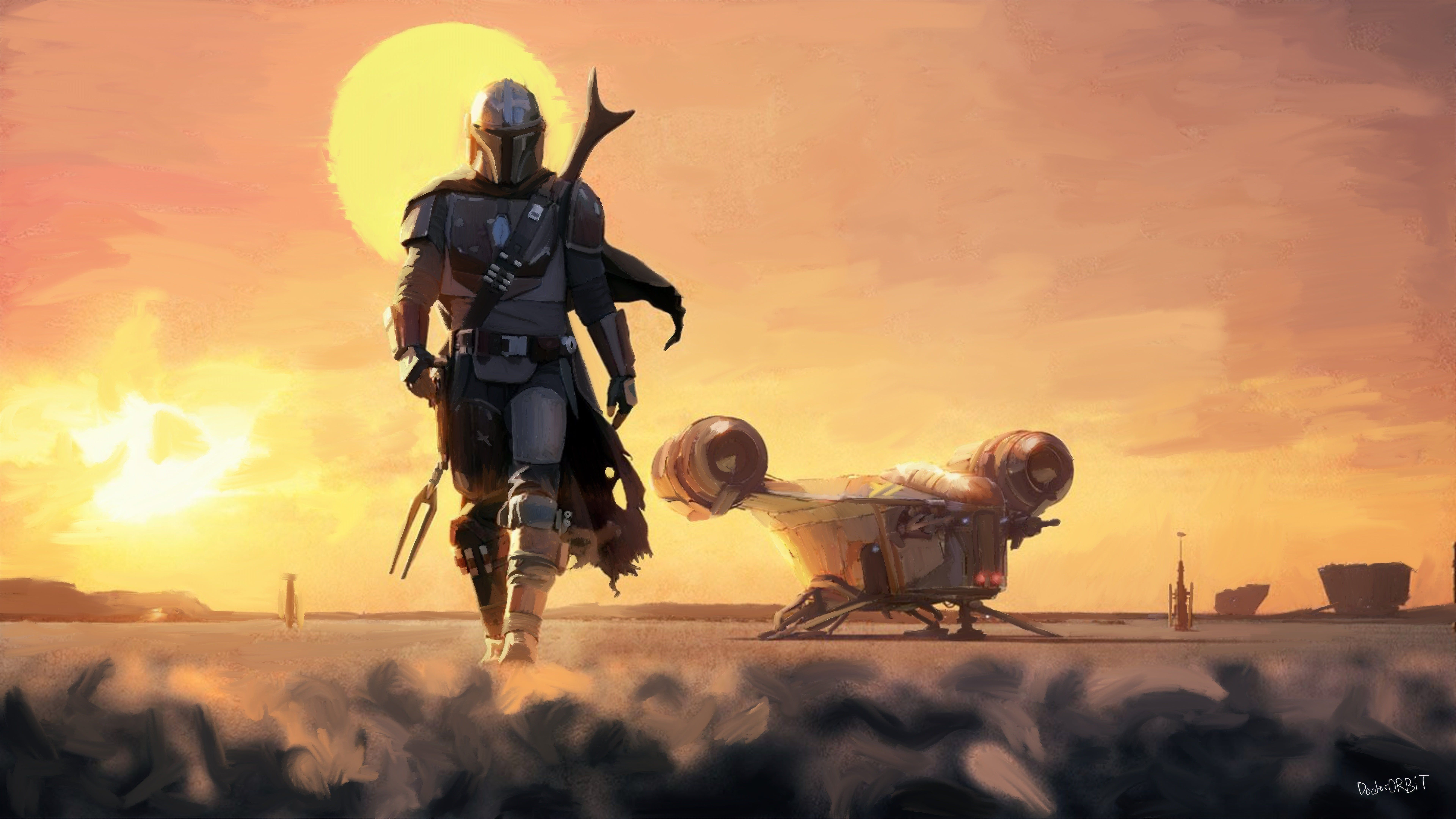 The Mandalorian Poster wallpaper Disney star wars