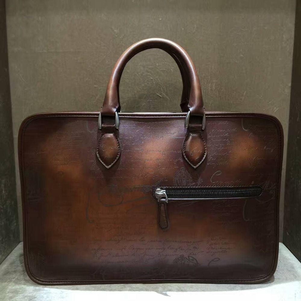 Leather · Find More Briefcases Information about TERSE Best gift for man  leather tote bag handmade vintage style briefcase 435b18be0e