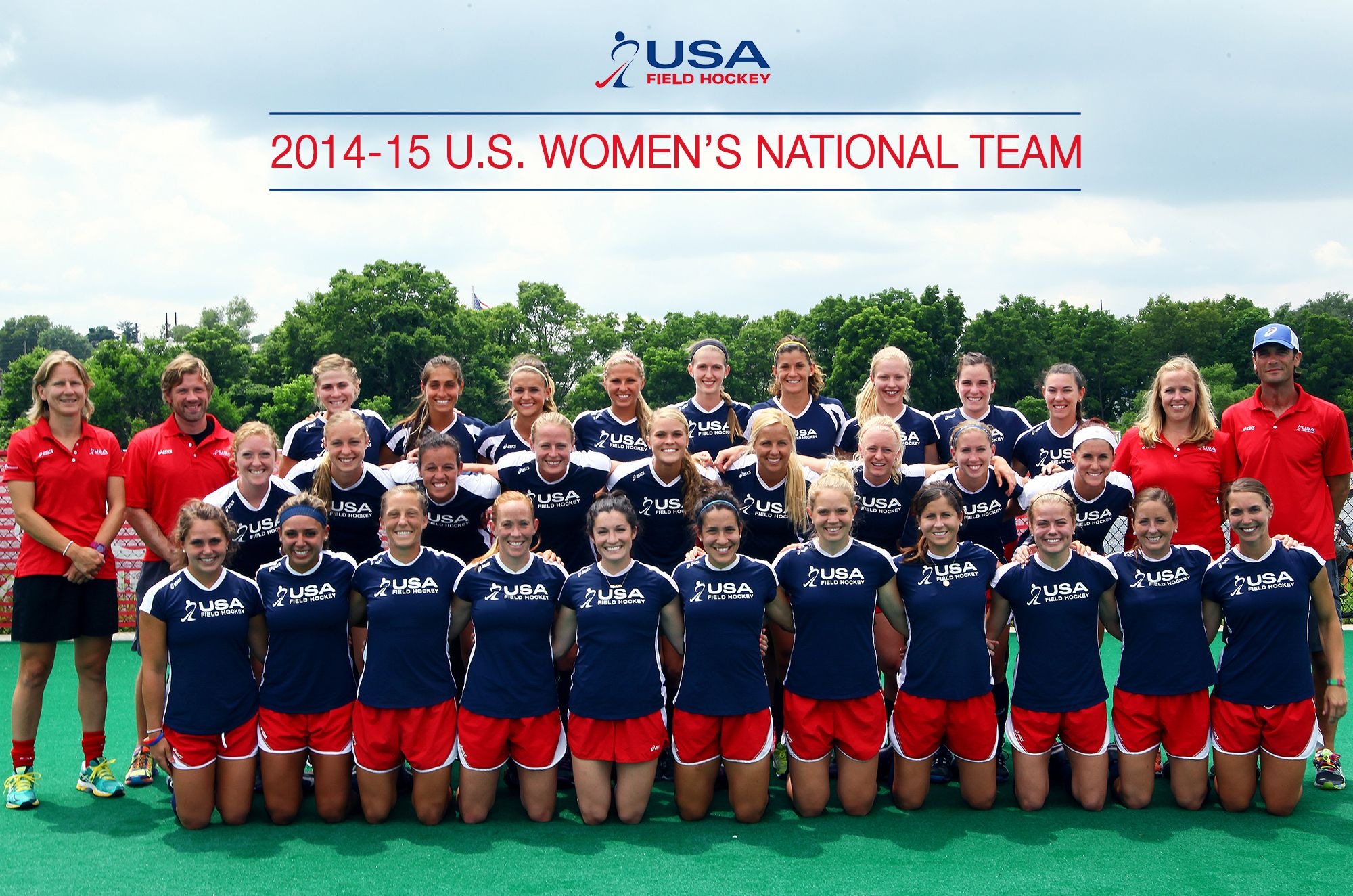 The 2014 15 U S Women S National Field Hockey Team Go Usa Field Hockey Hockey Field Hockey Rules