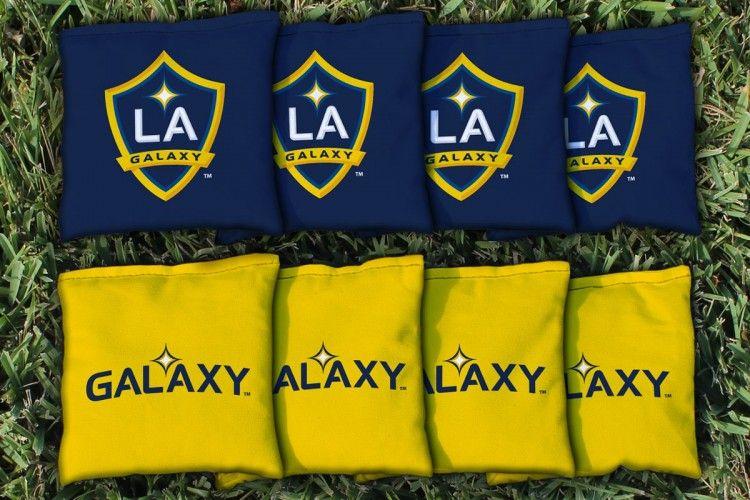 Los Angeles La Galaxy Lagsc Replacement Cornhole Game Bag Set Corn Filled La Galaxy Cornhole Bags Mls Teams