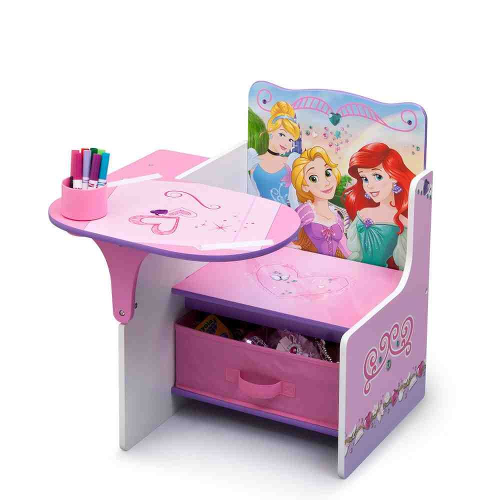 Charming Pink Kids Desk Chair