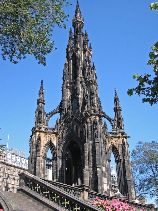 Scott Monument  Edinburgh