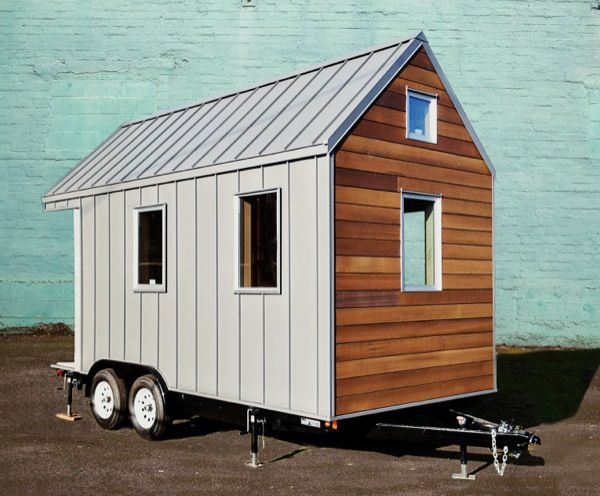 Tiny Modern House On Wheels the miterbox tiny house on wheels 002 the miter box: modern tiny