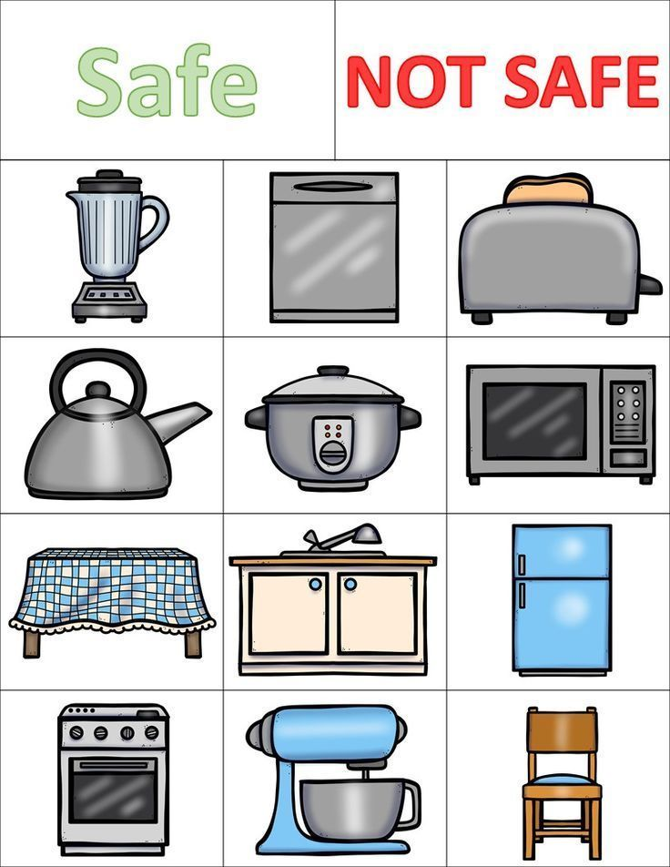Kitchen Safety Worksheets And Activities Pack Kitchen Safety