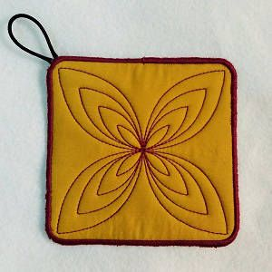 {Kitchen- ITH Quilted Pot Holder2-5x5 DesignsBySick  K.H.}  Free Design Voting Results