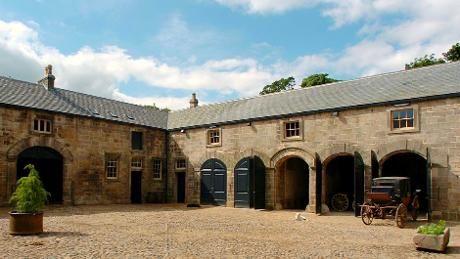 Stable Yard At The Castle Farm Buildings Barn Stables Farmhouse Design