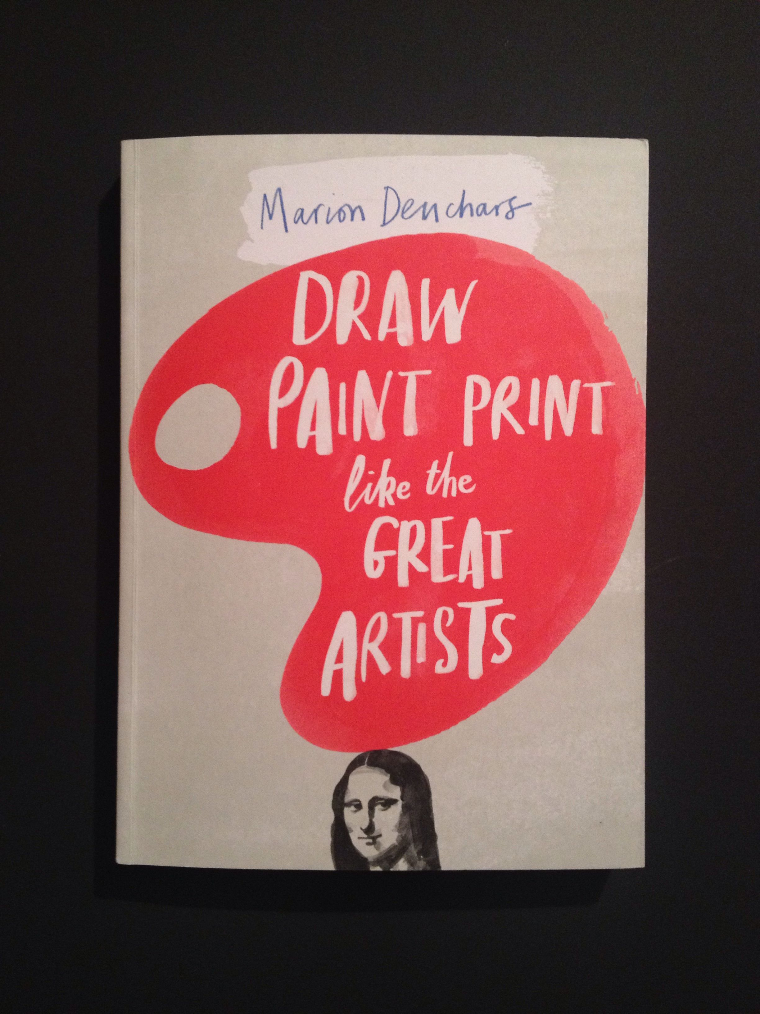 Draw paint print like the great artist - Marcel Denchars