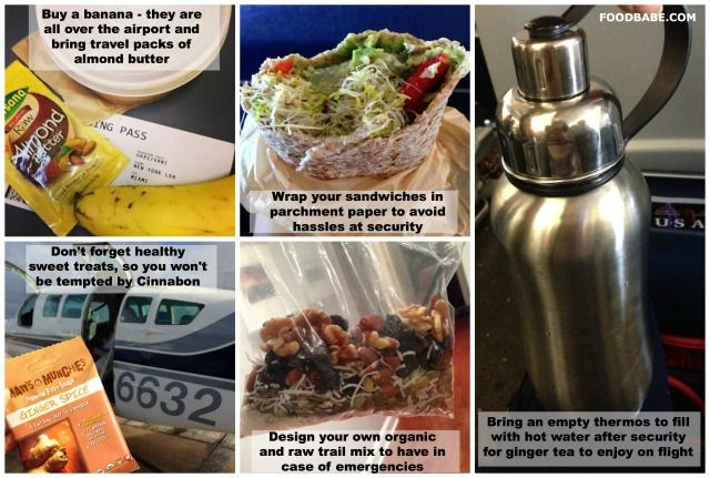 raw food diet sold in airport