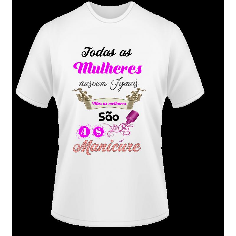 CAMISETA MANICURE 3  c2c08c4637720