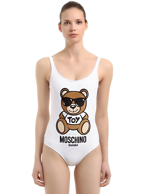 b4eb50744b4 MOSCHINO BEACHWEAR TEDDY BEAR ONE PIECE SWIMSUIT.  moschinobeachwear  cloth