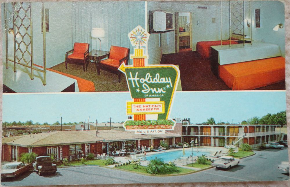 Vintage Postcard, Holiday Inn, Southwest Montgomery