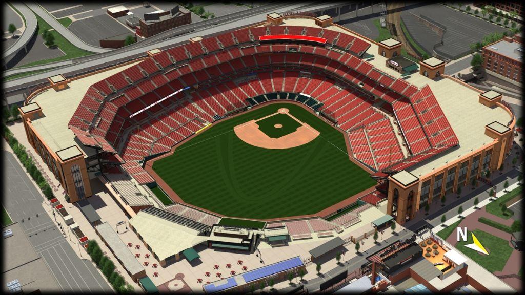 St Louis Cardinals Stadium Seating Chart St Louis Cardinals Seating Charts St Louis