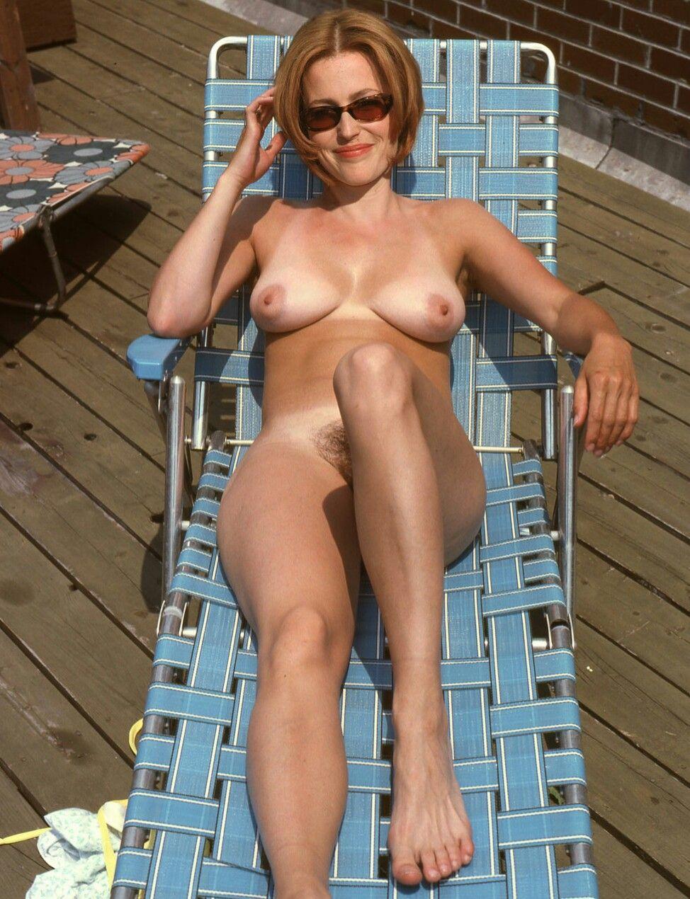 gillian photos Nude anderson