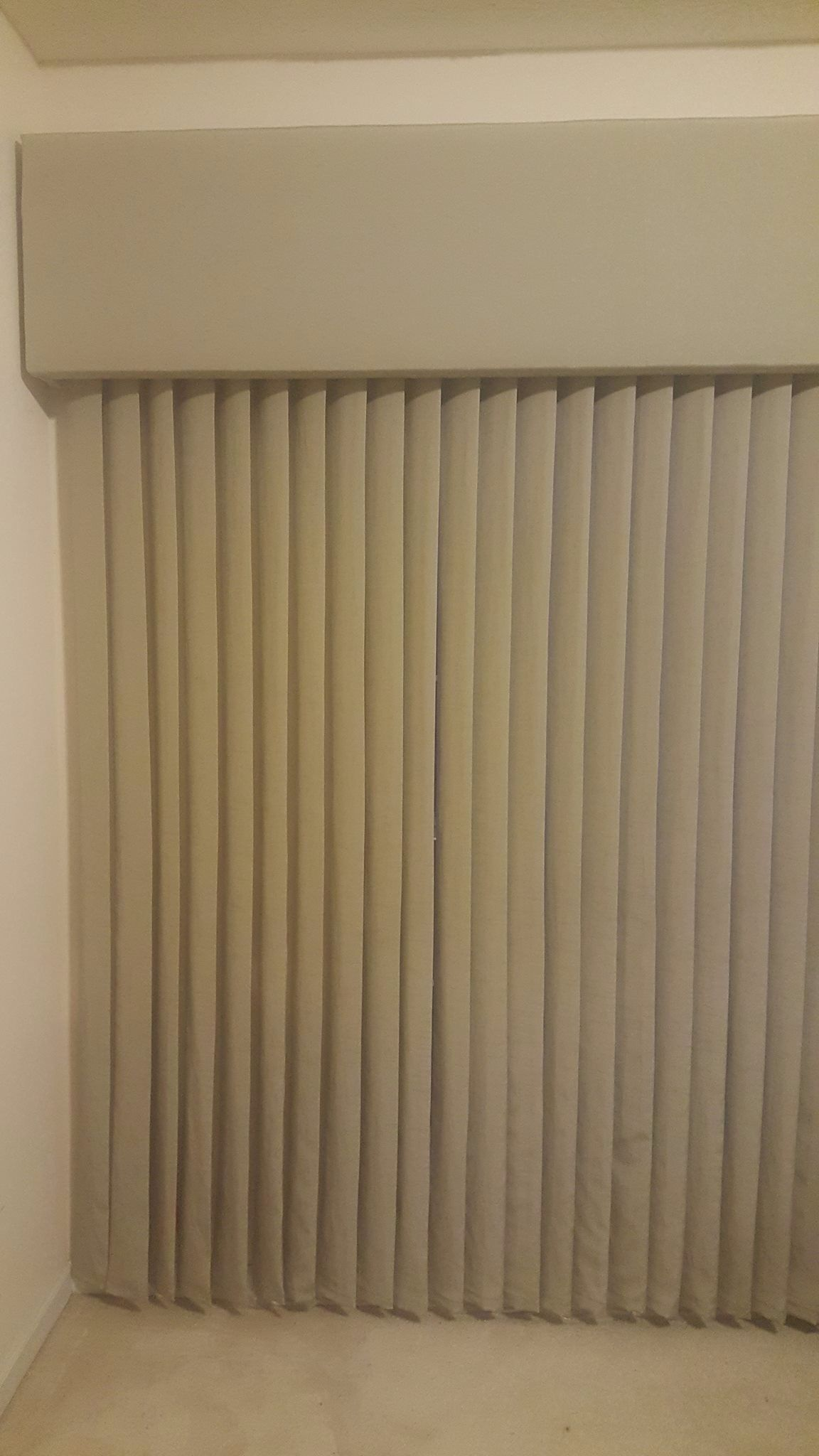 vertical levolor blinds short custom fabric express sheer soft and perceptions drapery