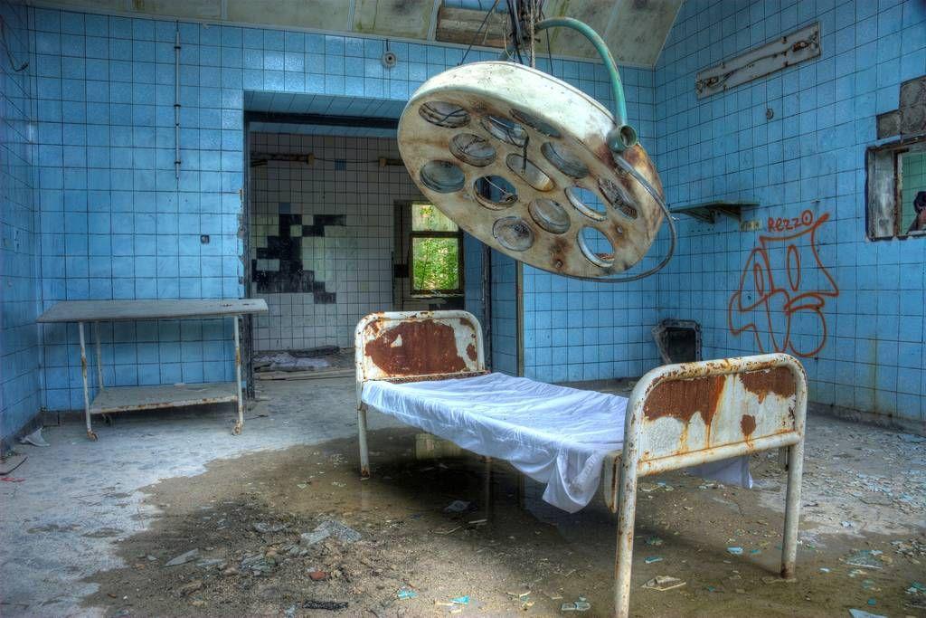 Hospital de Hitler: The Eerie Restos de Beelitz Sanatorio ~ Kuriositas