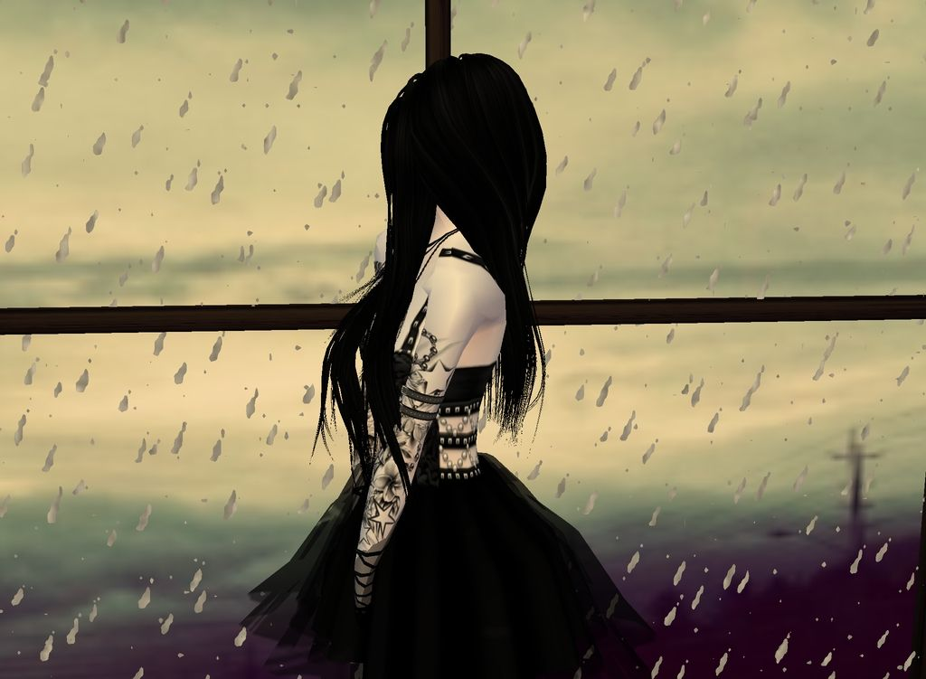 Essa é uma foto de minha avatar no IMVU jogo virtual