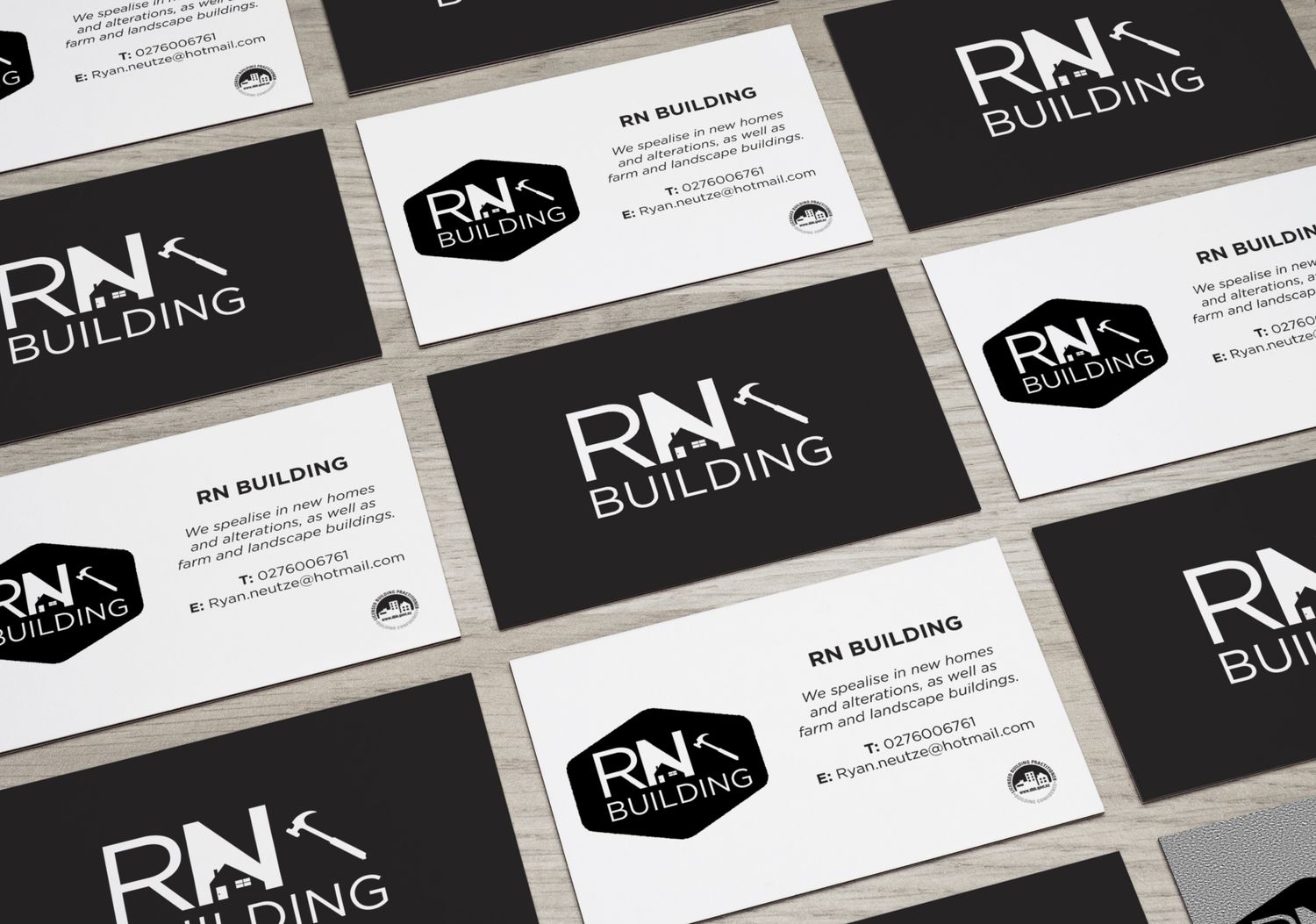 RN Building. Building Logo & Business Cards. sarahjane-creative.com ...