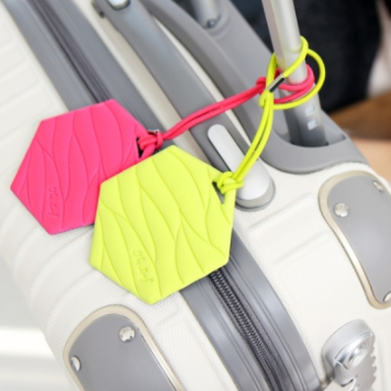Leaf Pattern Luggage Tag