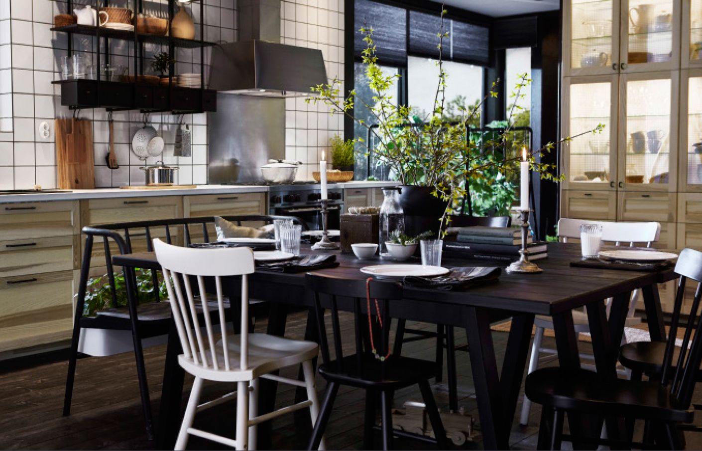 RINGHULT Dør, højglans grå | Ikea och Kök : ekbord ikea : Inredning