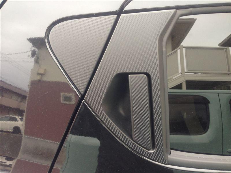 Nissan Juke W Rear Passanger Door Carbon Fiber Trim ジューク 日産
