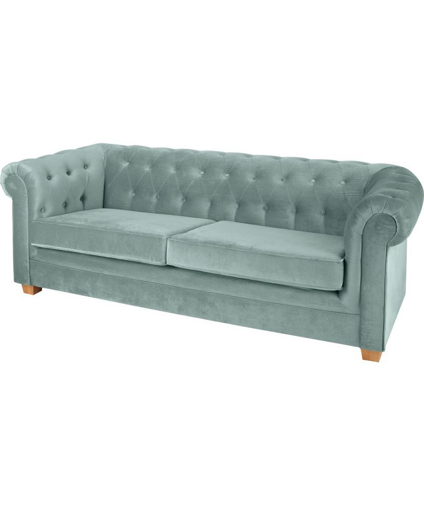Chesterfield Sofa Online Uk Buy Chesterfield Large Fabric Sofa Duck Egg At Argos Co Uk