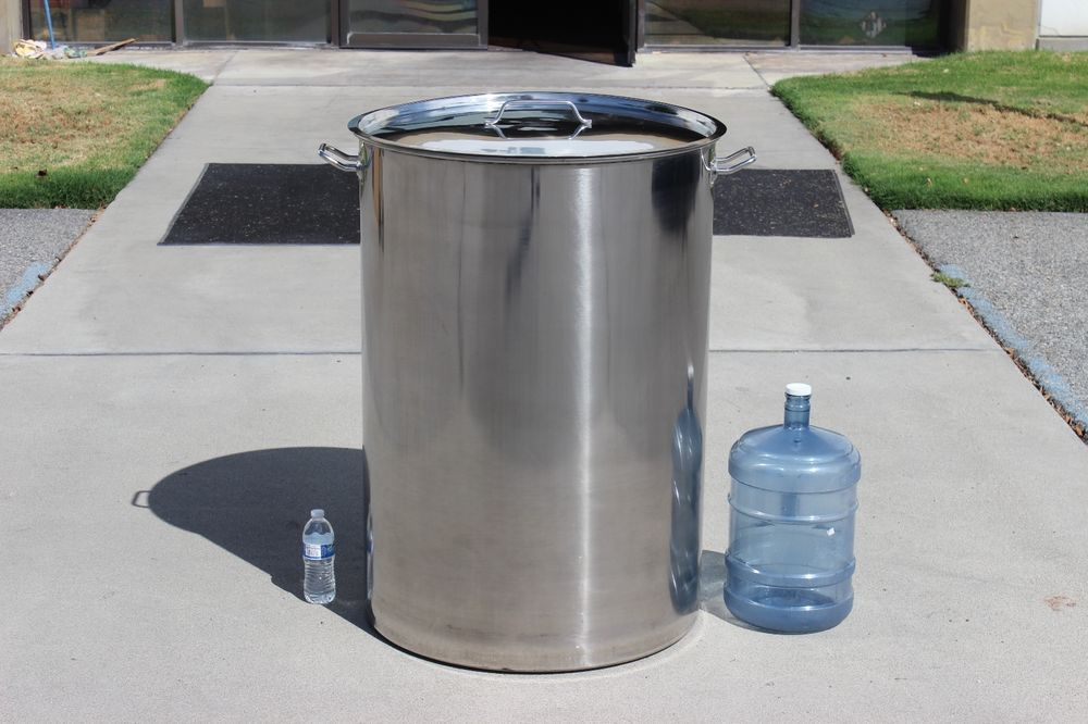 Concord Huge 400 Quart Stainless Steel Stock Pot Home Brew