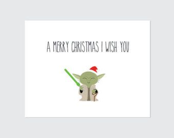 Star Wars On Etsy A Global Handmade And Vintage Marketplace Star Wars Christmas Cards Printable Christmas Cards Star Wars Christmas Gifts