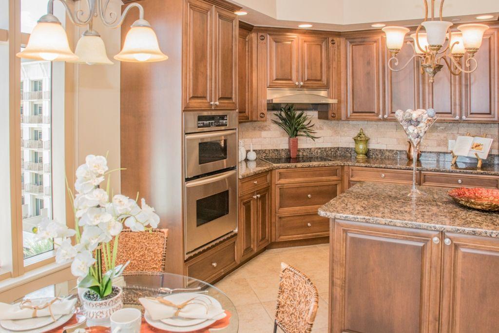 Sandpearl Resort Condo Kitchen-Staging-Clearwater Beach ...
